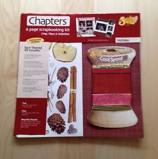 Chapters Scrapbooking Kit - Holiday