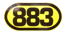 adesivo 883  - adesivi/adhesives/stickers/decal