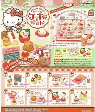 Re-Ment Miniature Sanrio Hello Kitty Dessert Sweets Cake Shop Full Set of 8 pcs