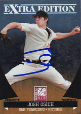 JOSH OSICH SAN FRANCISCO GIANTS SIGNED DONRUSS BASEBALL CARD OREGON STATE DUCKS
