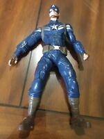 "Hasbro Captain America 9"" Action Figure The Winter Soldier Talks And Sounds"
