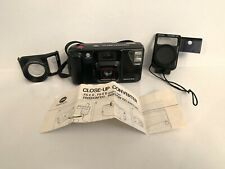 Minolta Freedom 100 Point And Shoot Film Camera With Tele-Converter Accessories
