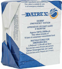 DATREX 3600 Calories Emergency Food Ration Coconut MRE Bars - 18 Bars Per Pack
