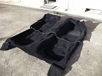Moulded Car Carpet Flooring - TOYOTA LANDCRUISER 79 SERIES DUAL CAB 2012-onwards