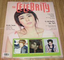 THE CELEBRITY INFINITE SUNGJONG SHINEE JONGHYUN KOREA MAGAZINE 2015 FEB FEBRUARY