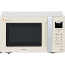 Daewoo KOR6A0RC 20 Litre 800 Watt Touch Control Microwave Oven in Cream