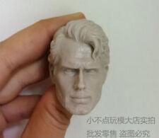 blank Hot 1/6 scale Head Sculpt Henry Cavill clark kent man of steel unpainted