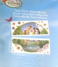 Tinkerbell & Friends Disney Mini Wall Mural Fairy Scene Peel & Stick 17.5 x 39