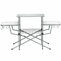 Portable Picnic Folding Table Durable& Sturdy Utility Sturdy Outdoor Travel