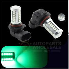 2PCS Green 33SMD 9005 HB3 9140 Auto Car  LED Lamp Fog Driving Light Blubs