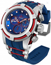 Invicta 52mm Bolt Zeus NFL OFFICIAL BUFFALO BILLS Chrono Silicone Strap Watch