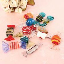 12PCS Vintage Murano Glass Sweets Wedding Candy Christmas Ornaments Decorations