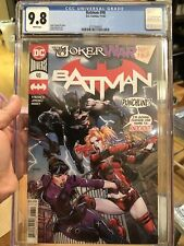 Batman #98 CGC 9.8 David Finch Cover A 💥 Joker War Part 4 💥 L@@K!