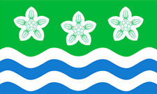 CUMBERLAND FLAG 5' x 3' Cumbria Cumbrian County English Lakes Lake District