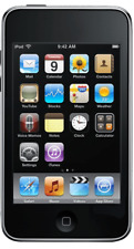 USED   Apple iPod touch 3rd Generation Black   32 GB   Cracked LCD