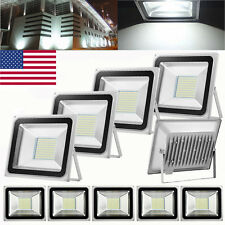 10X 100W LED Flood light Cool White Spotlight Outdoor Lighting Garden Lamp 110V