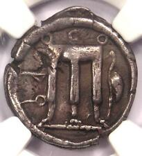 Bruttium Croton AR Silver Stater Tripod Coin 480-430 BC - Certified NGC VF