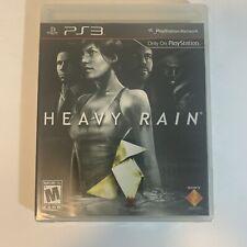 Heavy Rain Sony Playstation 3 PS3 Brand New Factory Sealed