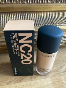 New MAC Studio Fix Fluid Make-Up Foundation, NC20, SPF/LSF 15, NP €36