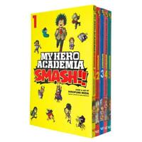 My Hero Academia Smash Series (Vol 1-5) Collection 5 Books Set By Kohei Horikosh