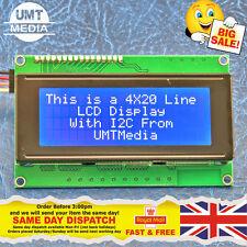 IIC/I2C/TWI 2004 20X4 Character LCD Module Display For Arduino Blue Serial