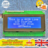 IIC/I2C/TWI 2004 20X4 Character LCD Module Display For Arduino Blue Serial