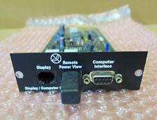 APC sycdci Symmetra UPS PX Display & COMPUTER INTERFACE MODULE CARD 640-4117a