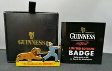 Rare Zoo Keeper Guinness My Goodness My Guinness Badge 0499 of 1,200 Rdl786