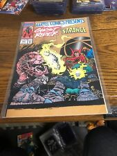 Marvel Comics Presents Ghost Rider And Dr Strange Wolverine
