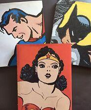 The Complete History Superman, Batman and Wonder Woman 3 Volume Set Hardcover DC