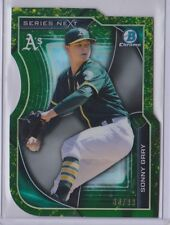 SONNY GRAY 2015 Bowman Chrome SERIES NEXT Green Refractor A's ACE SP 86/99