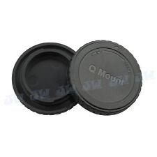 JJC Body & Rear Cap for PENTAX Q lens & Q7 Q10 Q mount Camera Storage Protection