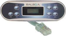 Spa side control panel keypad Balboa WG® VL700S w/ phone plug type, part# 53811