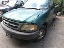 97 98 FORD F150 FRONT BUMPER ASSY 4X2 GRAY FRONT MOUNTED PAD 184318