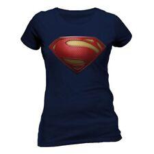 Camisas y tops de mujer de color principal azul 100% algodón talla L