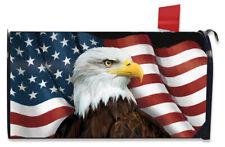 American Eagle Patriotic Magnetic Mailbox Cover Usa Standard Briarwood Lane