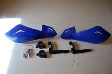 KAWASAKI KMX125 BLUE HANDGUARDS PROTECTORS BRUSH GUARDS FF LITE PAIR OF