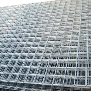 "Galvanised Wire Mesh Panels   7 Pack   12 Gauge   2.44m x 1.22m   2"" Holes"