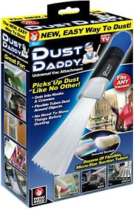 Dust Daddy Universal Vacuum Cleaner Attachment Dust & Dirt Remover on TV