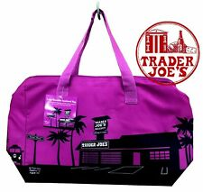 NEW 🔥 Trader Joe's  Insulated Reusable Shopping Bag 8 Gallons Purple 🔥 joes