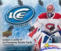 2017/18 Upper Deck ICE Hockey Factory Sealed HOBBY Box-2 AUTO/MEM/EXQUISITE Card