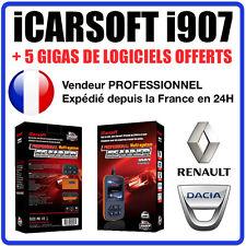 Valise Diagnostique RENAULT & DACIA - iCarSOFT I907 - CLIP - OBD2 et CAN