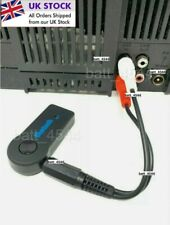 More details for bluetooth audio receiver adapter for any amplifier hi-fi stereo stack system