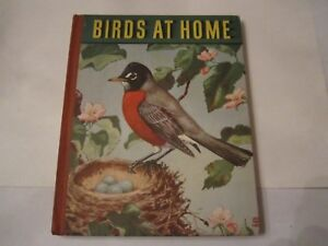 1942 BIRDS AT HOME BOOK BY MARGUERITE HENRY - TUB R5