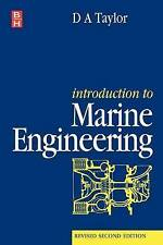 Introduction to Marine Engineering by D.A. Taylor (Paperback, 1996)