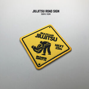 BJJ Jiu-Jitsu Patch Series