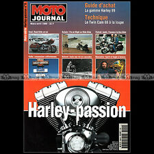 MOTO JOURNAL HS 9902 HORS-SERIE ★ HARLEY-PASSION N°8 1999 ★ ROAD GLIDE KNIEVEL