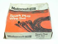 NOS Motorcraft WR-3838-B 7MM Spark Plugs Tailored Wire Set for 8 Cylinder