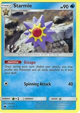 POKEMON SUN & MOON CRIMSON INVASION CARD: STARMIE - 16/111 - RARE