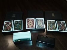 8 Decks Kem Playing Cards With Cases Roosters Flowers